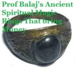 Spiritual Magic Ring That Brings Money, Magic Ring for Protection