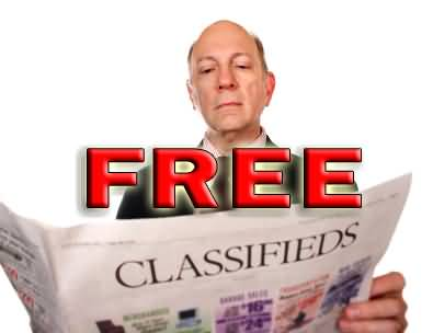 Free classifieds - here